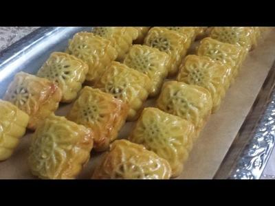 Ramadan Recipes: Maqrot.Maqrout | Semolina and Date Sweets.Cookies