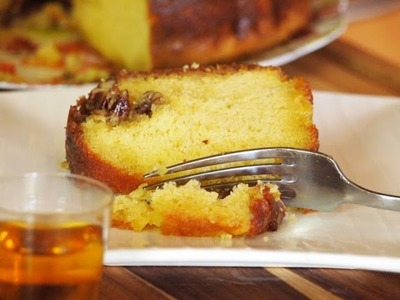 Rum Cake Recipe (Cooked on the Big Green Egg!)