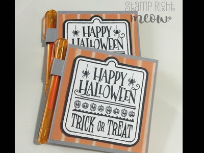 Sticky Note Holder Tutorial With Stampin' Up!