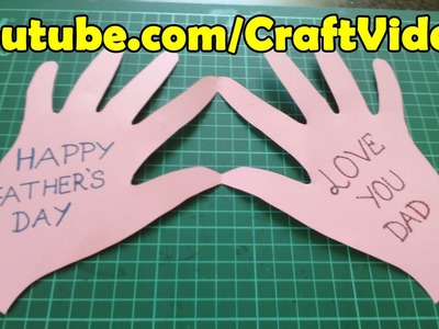 Very Easy 5 minutes Happy Fathers Day Cards