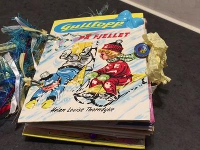 Children's book junk journal