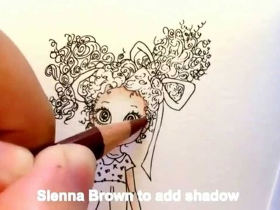 Coloring with Prismacolor Pencils and Mineral Spirits