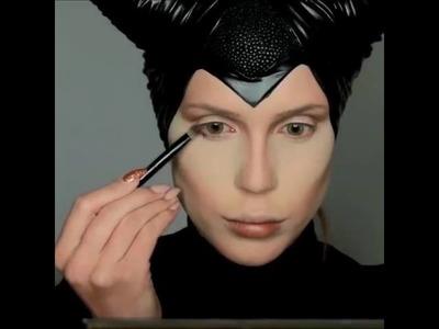 Disney's Maleficent Makeup Tutorial  By: @amadea_dashurie