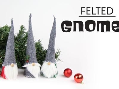 DIY Felted Gnomes | Gnomos de fieltro (Christmas | Navidad)