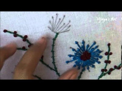 Hand Embroidery Work Designs # 96 - Brazilian Embroidery designs