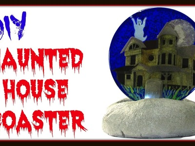 Haunted House Coaster | DIY Project | Another Coaster Friday | Craft Klatch | How To | Halloween Ser
