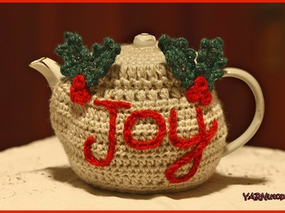 How to Crochet The Joyful Teapot Cozy