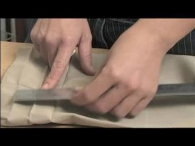 How to Hem Pants : Measuring Pant Cuff Length for Hemming Pants