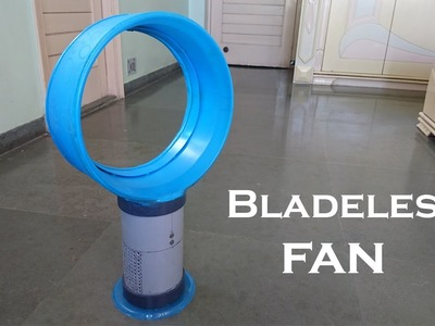 How to Make a Bladeless Fan using bucket at Home - Easy Way