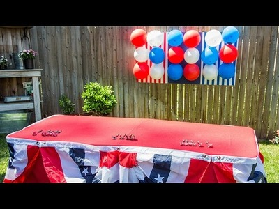 How to - Maria Provenzano's DIY Memorial Day Party Décor - Hallmark Channel