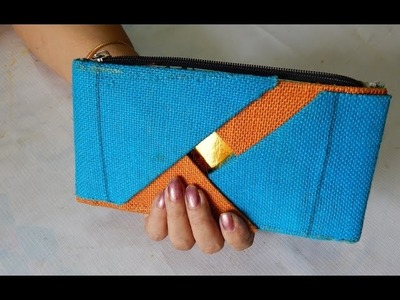 Make your own jute purse making (part- 2)