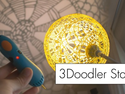 Making Art with the 3Doodler Start. 3D pen review