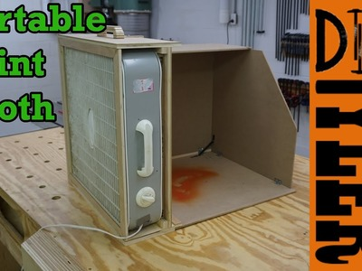 Portable Paint Spray Booth | How To