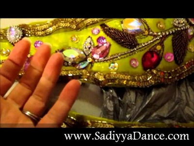 Recycle Your Bling!  Sewing & Costume Tips for BELLY DANCERS!!!