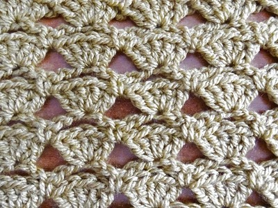 Shells in a Row - Crochet Tutorial