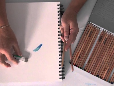 Tip of the Day: Colored Pencil Eraser by Tombow