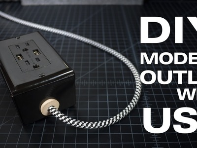 DIY | A Modern Extension Cord with USB