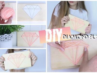 DIY Diamond Plaque | Amy Menzies