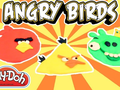 [DIY] Making Play-Doh Clay Angry Birds | Unboxing & Toy Review