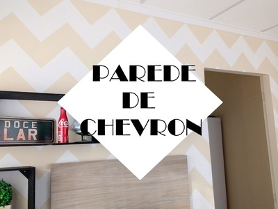DIY: Parede de Chevron
