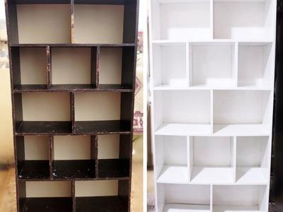 How To: Bookshelf Makeover - kari dasty (boya krdn) - DIY