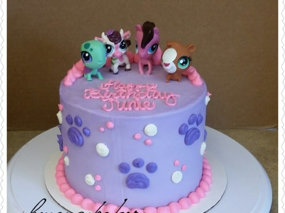 Littliest Pet Shop ( LPS ) Cake. DIY cake