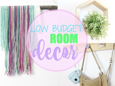 LOW BUDGET DIY ROOM DECOR | Charlene Wallen