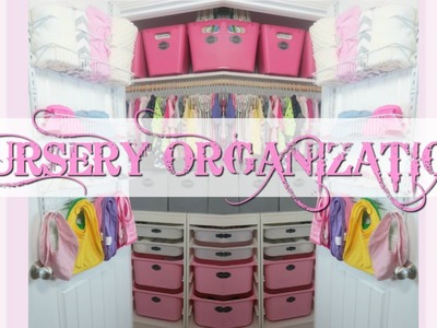 Nursery Closet Tour - DIY Organization Ideas