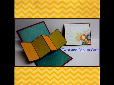 Art and Craft tutorial: How to make Twist and Pop up Card