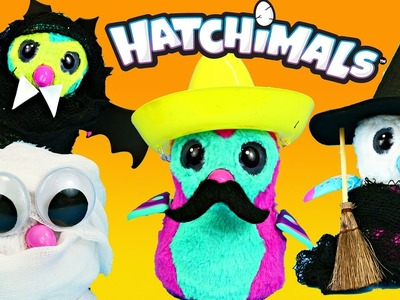 Baby HATCHIMALS Halloween Costumes Dress Up For New Surprise Eggs Penguins DIY Hatchimal Babies