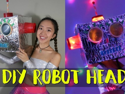 Candy Club CHALLENGE! (DIY Robot Head)
