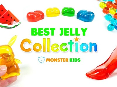DIY Best Jelly Collection | Jelly Craft | Raindrop Cake Recipe