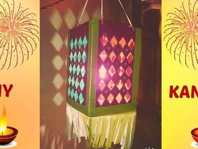 Diy How To Make Aakash Kandil | Diwali Latern | Crafty Zilla |