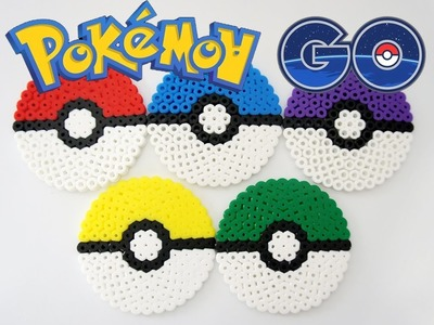 DIY How To Make Perler Beads Pokemon Go Learn Colors