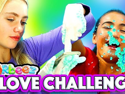 DIY Orbeez Gloves Challenge with Orbeez Girls | Official Orbeez
