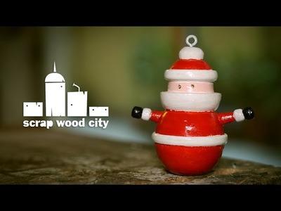 DIY Santa claus for Christmas Ornament Challenge 2016