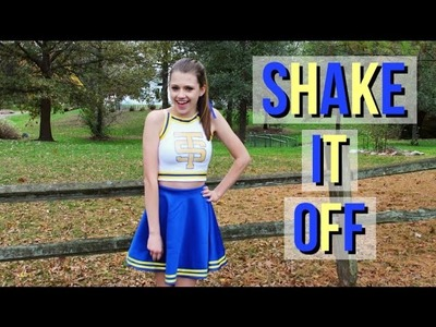 DIY Shake It Off Cheerleader Outfit - Taylor Swift Costume Idea!