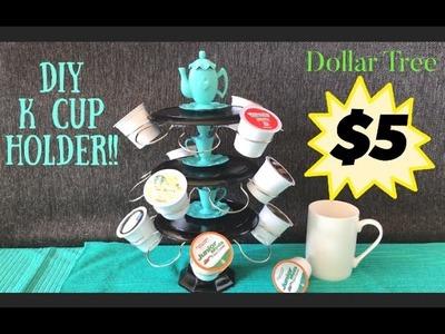 Dollar Tree DIY K-Cup Holder