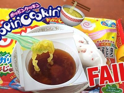 *FAIL* DIY Popin Cookin Ramen Kit