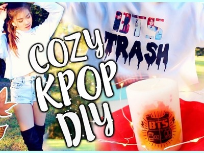 Falling for KPOP (KPOP DIY Candle, Sweater, & Outfit)|OnlyKelly