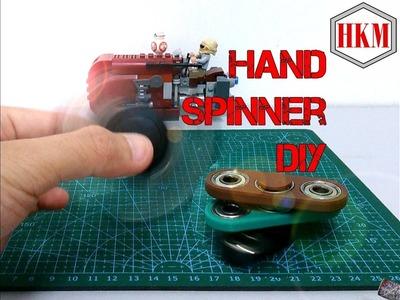 Hand Spinner.Fidget Spinner DIY Tutorial (EASY!!!)
