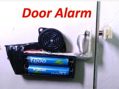 How to make a door alarm -  DIY Anti-theft doorbell