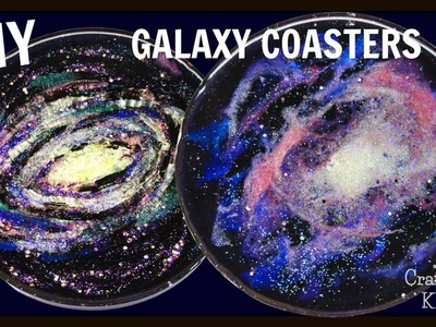 Resin Galaxy Coasters | DIY Project | Craft Klatch | Another Coaster Friday | How To