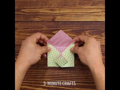 5 Minute Crafts - DIY Gift Envelope