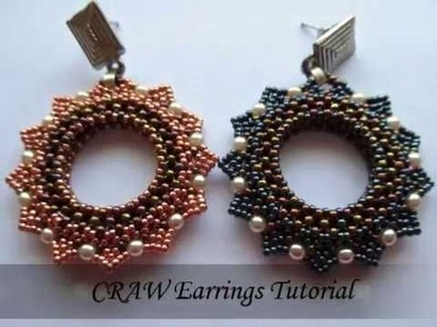 DIY - CRAW Earrings Tutorial