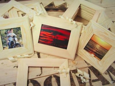 DIY. How to make photo frame!