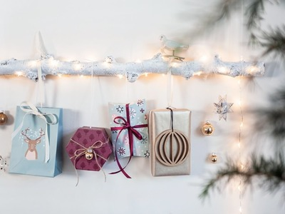 DIY: Make a Christmas gift decoration by Søstrene Grene