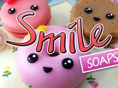 DIY: Smiley soaps :) Funny Melt & Pour soap making