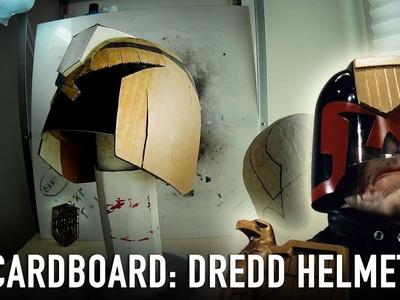 Dredd Helmet - PDF & Cardboard | Dali DIY Handcraft