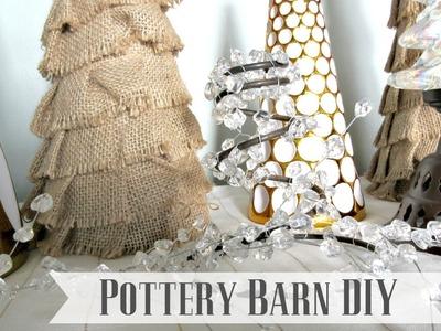 High-Low Christmas Decor Collab {Charlie Brown Pottery Barn DIY}
